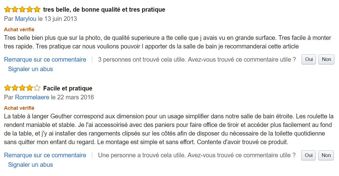 clarissa_de_geuther_table_a_langer_meilleurs_commentaires_clients_amazon